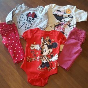 5 Piece Minnie Mouse Bundle